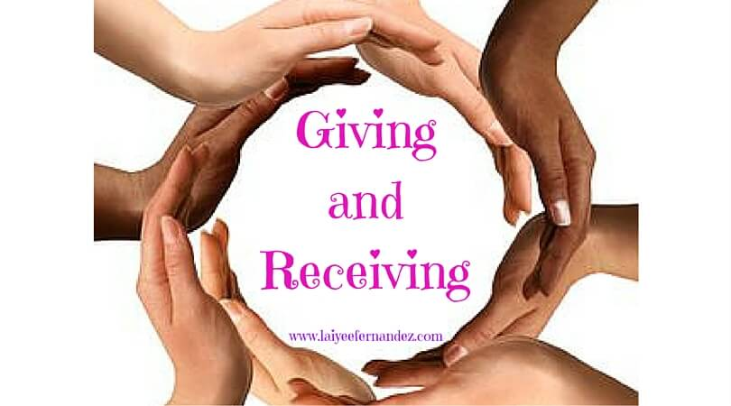 Image result for giving and receiving